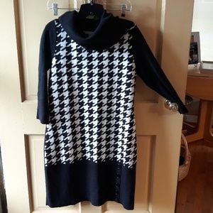 Cozy sweater dress size Large.
